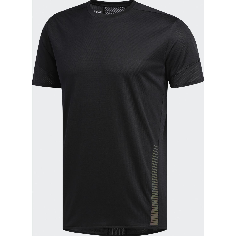 Adidas 25/7 Tee Runr Negro Camisetas y polos deportivos
