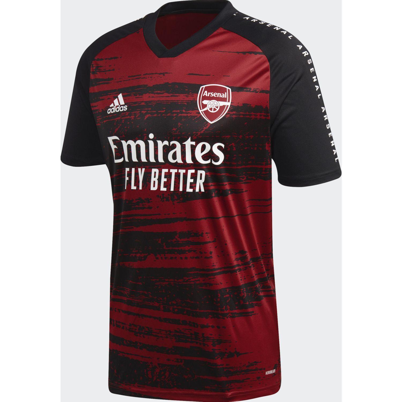 Adidas Afc Preshi Negro / rojo Camisetas y polos deportivos