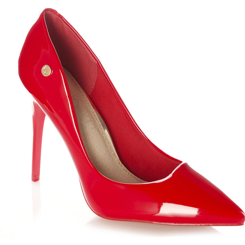 VIA UNO Zapato Rojo Lua Rojo Estiletos y pumps