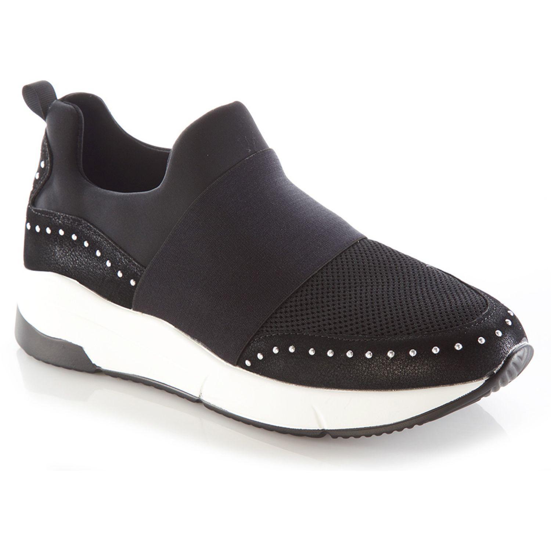 VIA UNO Tenis Hei Hei Negro Negro Zapatillas de moda