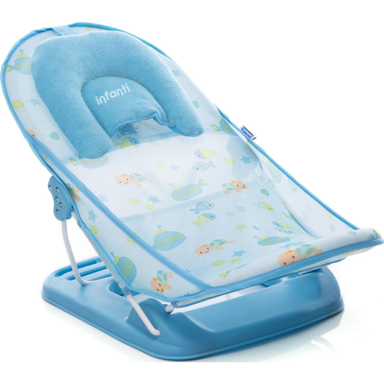INFANTI SOPORTE PARA BAÑO BLUE Azul Asientos de baño