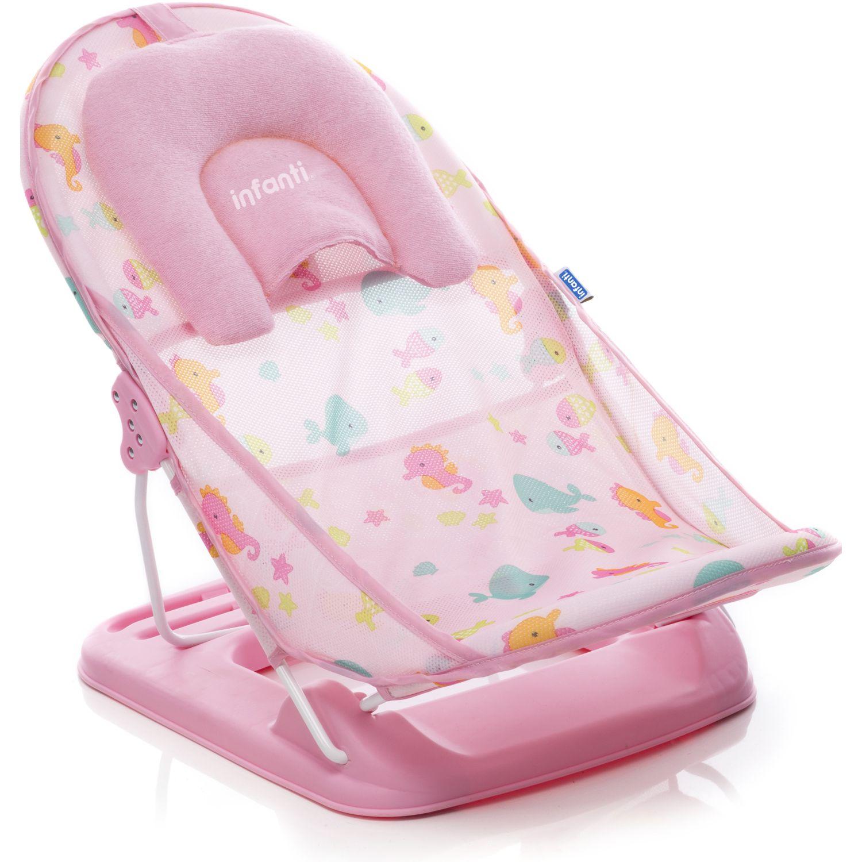 INFANTI Soporte Para Baño Pink Rosado Bañeras y asientos de baño