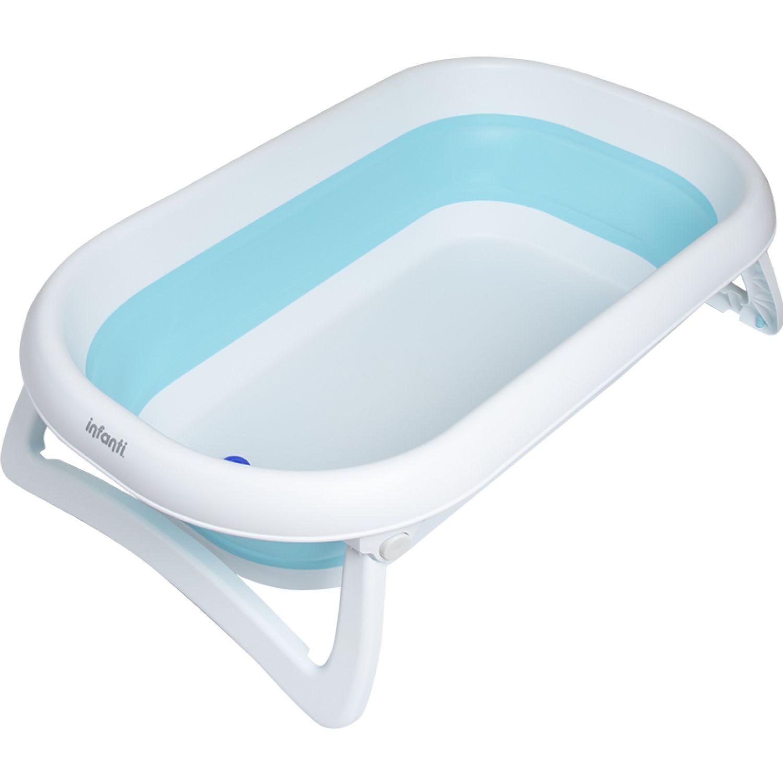 INFANTI Bañera Plegable Flexi Azul 2020 Azul Bañeras y asientos de baño