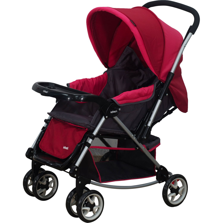 INFANTI Coche Cuna Jersey Pink 2018 Rosado Cochecitos