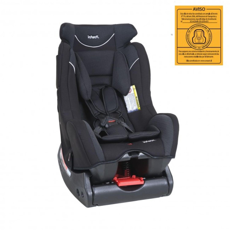 INFANTI Silla De Auto Barletta Charcoal Negro Infantil
