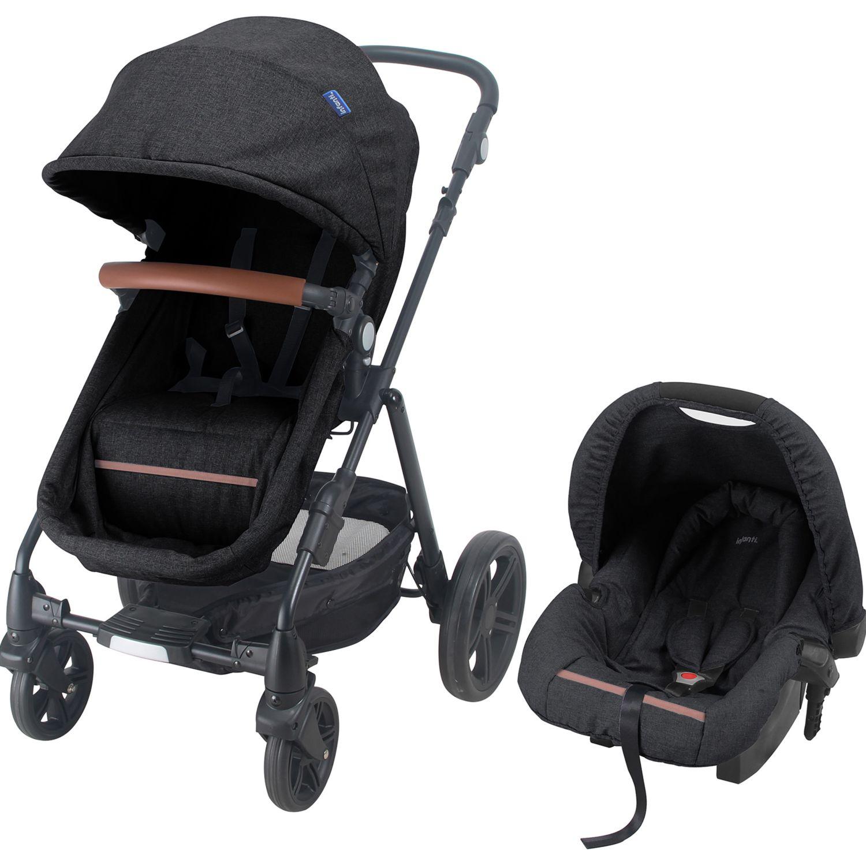 INFANTI Travel System Cloud Dark Grey Gris oscuro Juego de coches y autoasientos