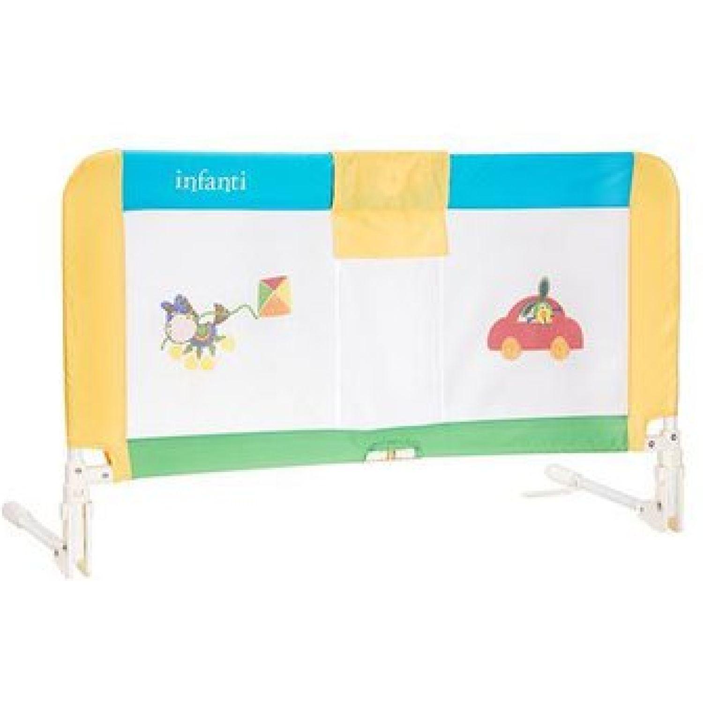 INFANTI Toy Box Baranda De Cama MULTICOLOR Barandales y Barandillas
