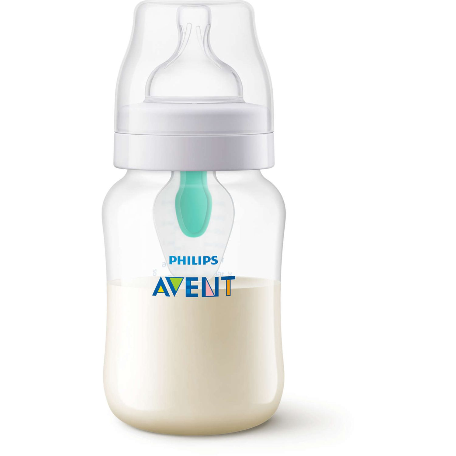 PHILIPS AVENT Biberon Anticolic 260ml C/ Valvula Air Transparente Biberones