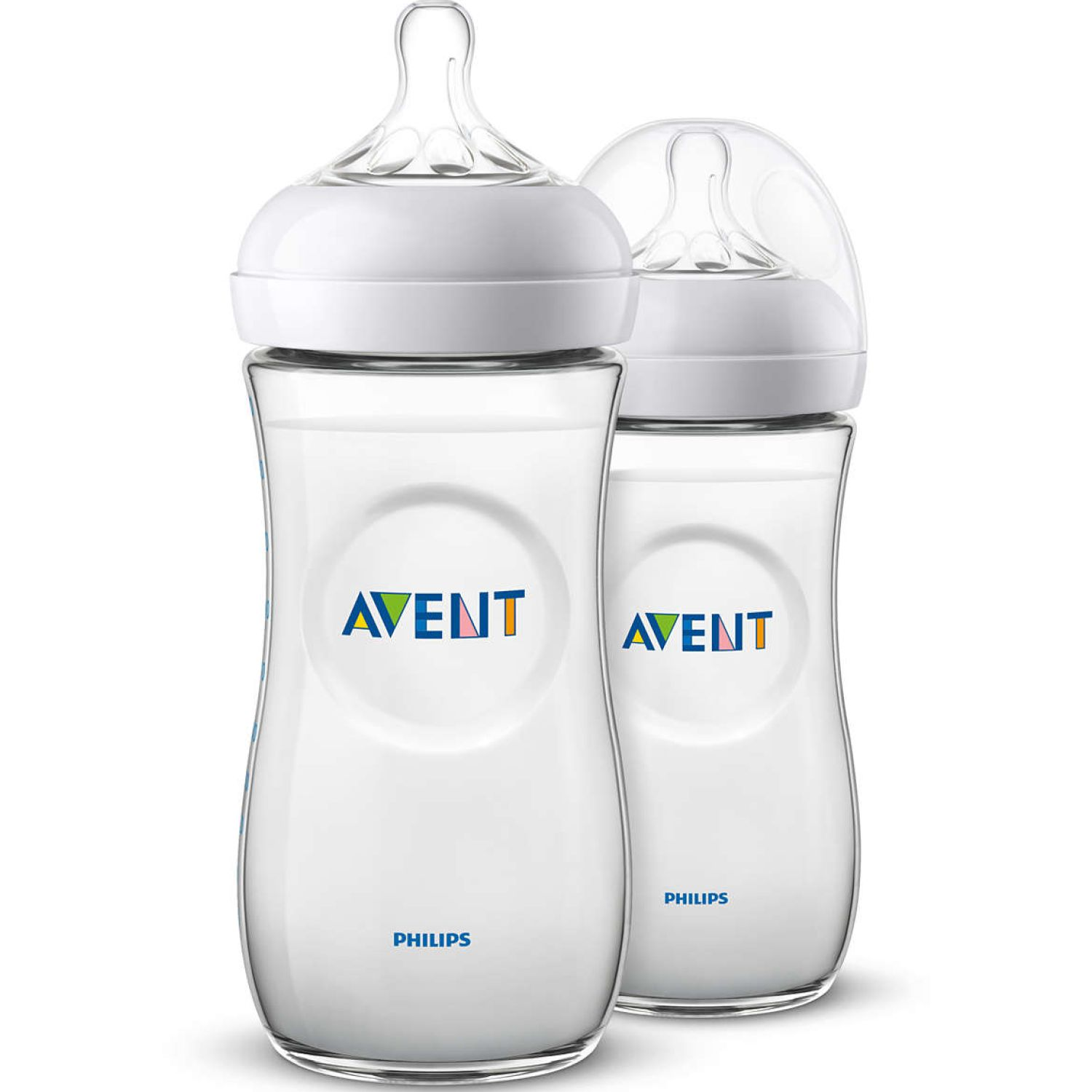 PHILIPS AVENT Biberon Natural 2.0 330 Ml Twin Pack Transparente Biberones