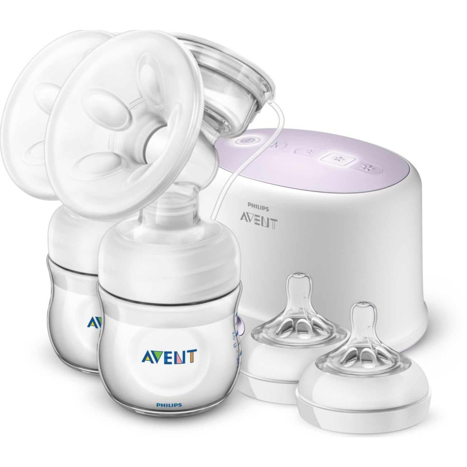 PHILIPS AVENT EXTRACTOR ELECTRICO AVENT NATURAL DOBLE Transparente doble eléctrico