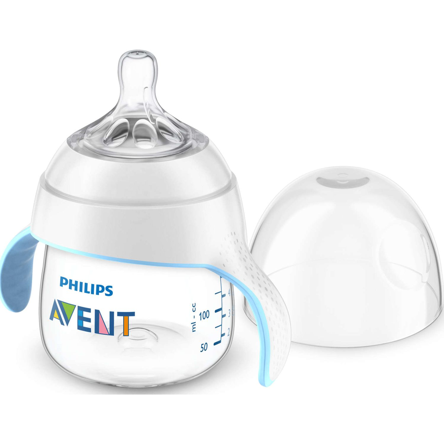 PHILIPS AVENT KIT TRANSICIÓN BIBERON A VASO NATURAL 2.0 150ML Transparente Biberones