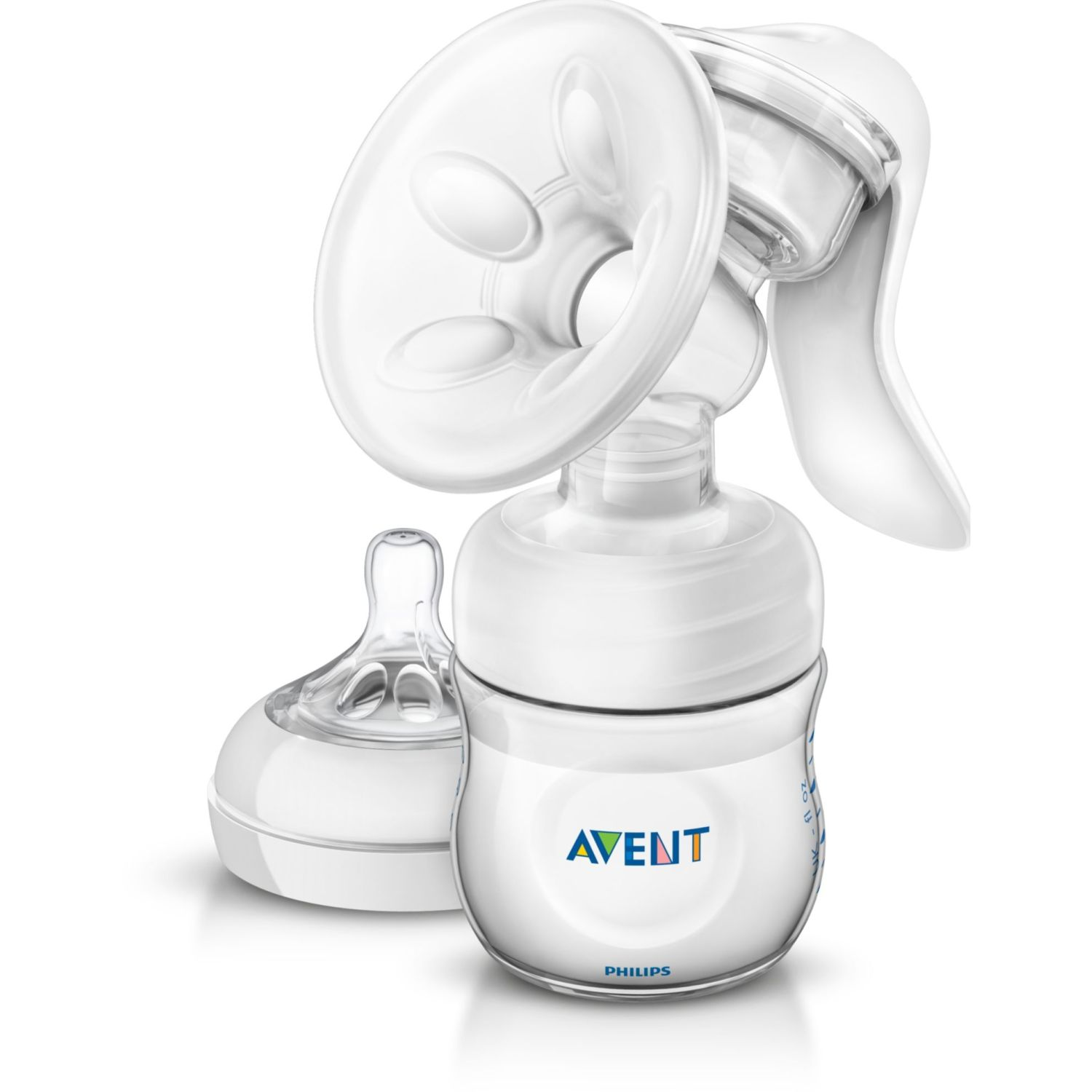 PHILIPS AVENT Extractor D/Leche Manual Natural Avent Transparente Manuales