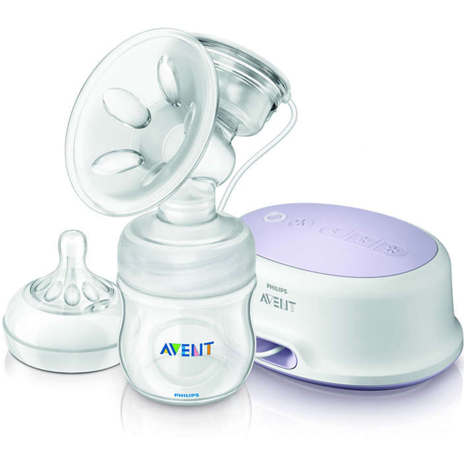 PHILIPS AVENT Extractor Electrico Avent Natural Simple Transparente Eléctricos Individuales