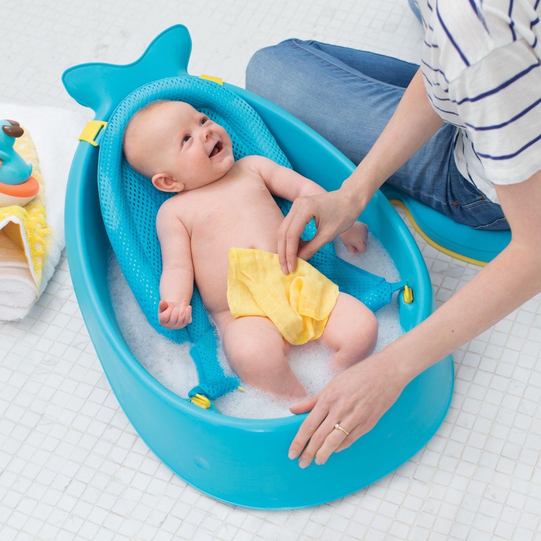 SKIP HOP Bañera 3 Etapas Moby Celeste Bañeras y asientos de baño