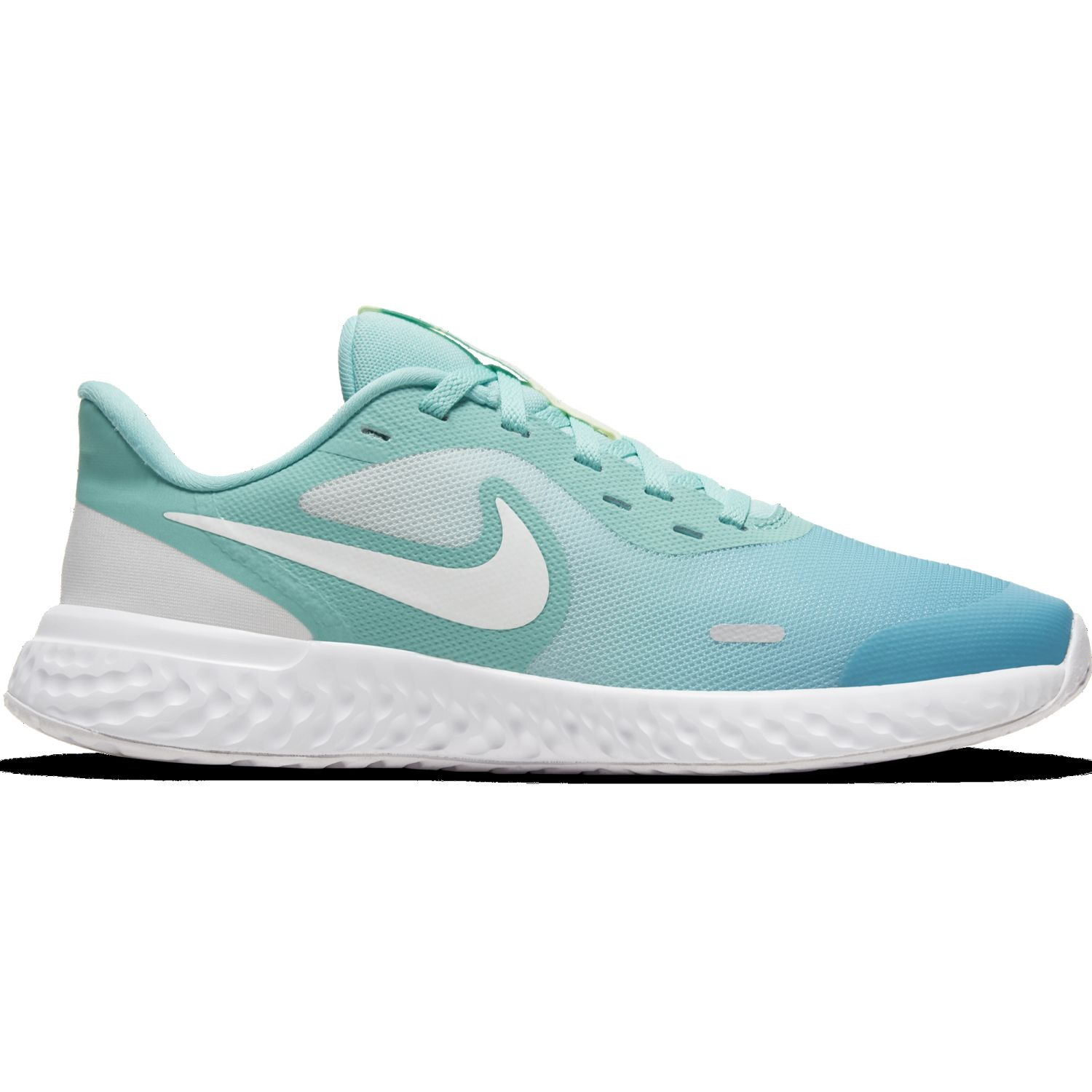 Nike NIKE REVOLUTION 5 D2N GS Celeste / verde Walking