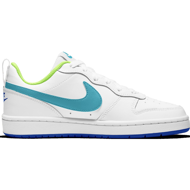 Nike COURT BOROUGH LOW 2 BG Blanco / celeste Walking