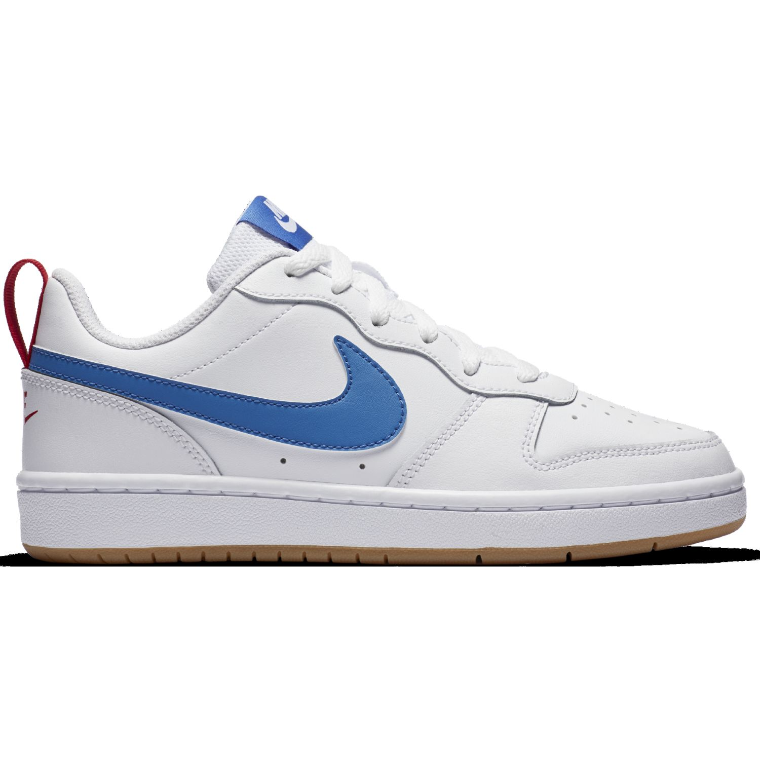 Nike Court Borough Low 2 Bg Blanco / azul Walking