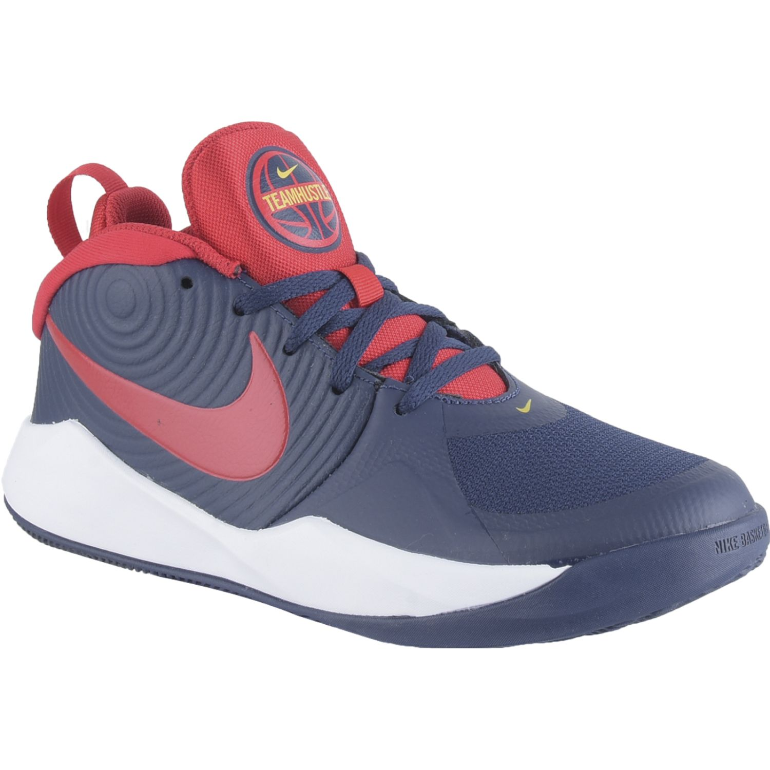 Nike TEAM HUSTLE D 9 GS Azul / rojo Walking