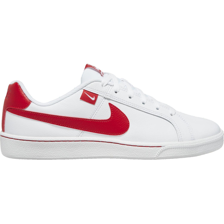 Nike NIKE COURT ROYALE TAB Blanco / rojo Walking