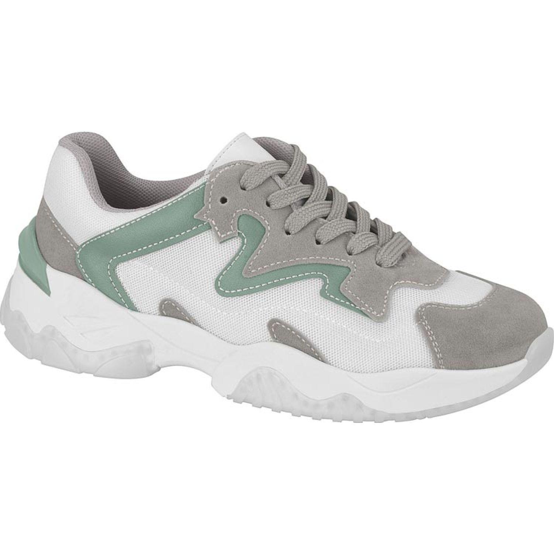 BEIRA RIO 4248.103.20655-75482 Blanco / gris Zapatillas Fashion
