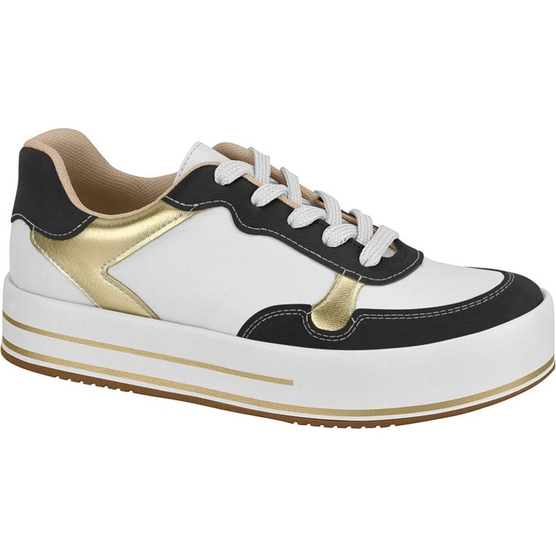 BEIRA RIO 4194.1317.20747-75871 Blanco / negro Zapatillas Fashion