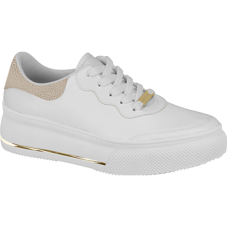 BEIRA RIO 4228.507.20622-62733 Blanco / dorado Zapatillas de moda