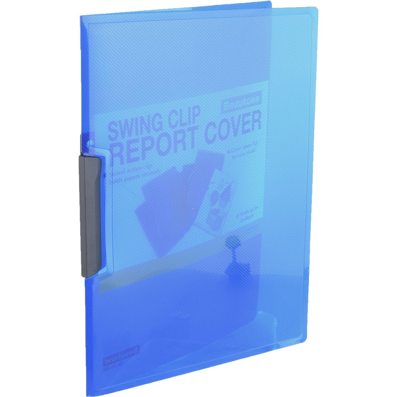 BEAUTONE Folder 35485 Swing Clip  A4 Azul De colores