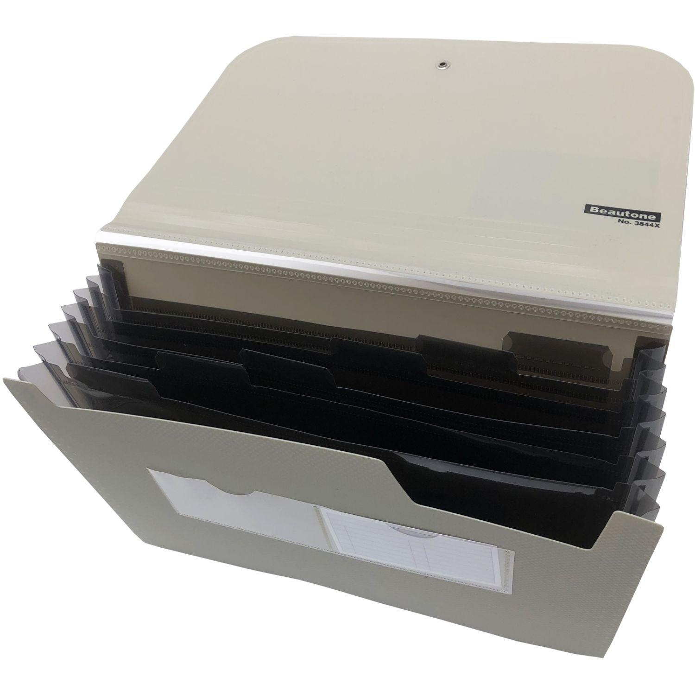 BEAUTONE Archivador Acord. 38446-A4 Gris Ampliación de archivos