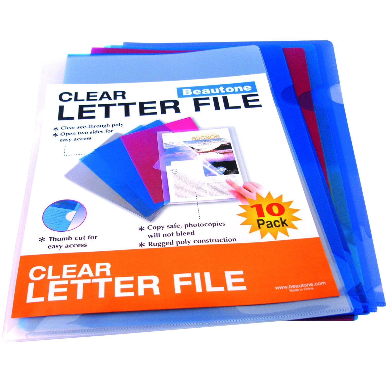 BEAUTONE FILE ORDENADOR 44004-A4- BOLSA X 10 UND Varios Expansor de archivos y bolsillos de archivos