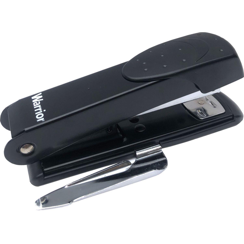 WARRIOR Engrapador C31006 Metal C/Sacagrapas Negro Grapadoras de sobremesa