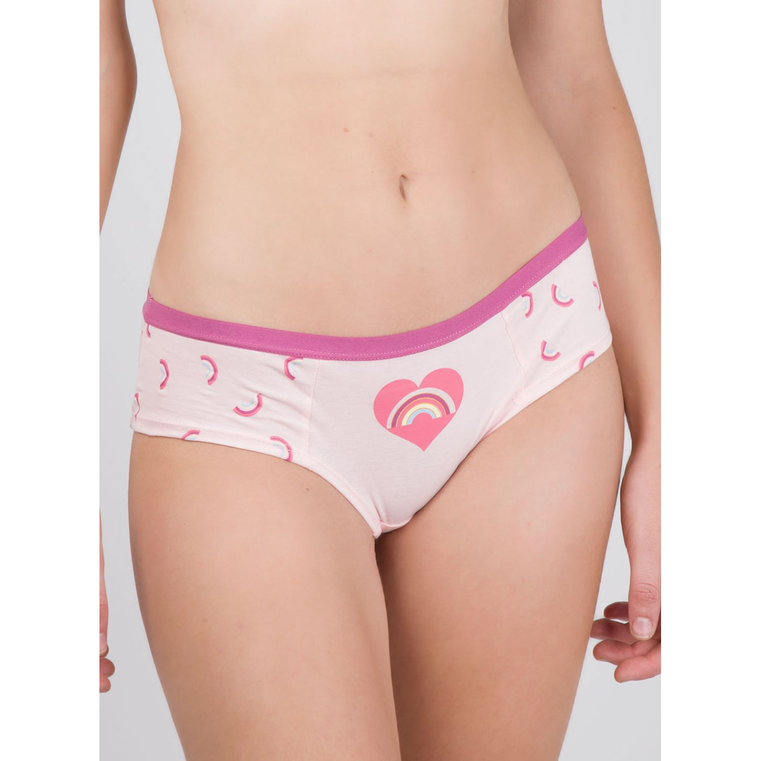 SISI Coulotte.Alg.Lyc.Rainbow Rosado Tangas y G-Strings (hilos)