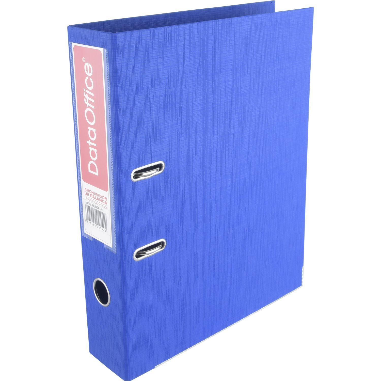 DATA OFFICE Archivador D/Palanca 1508 Azul Asas para carpetas
