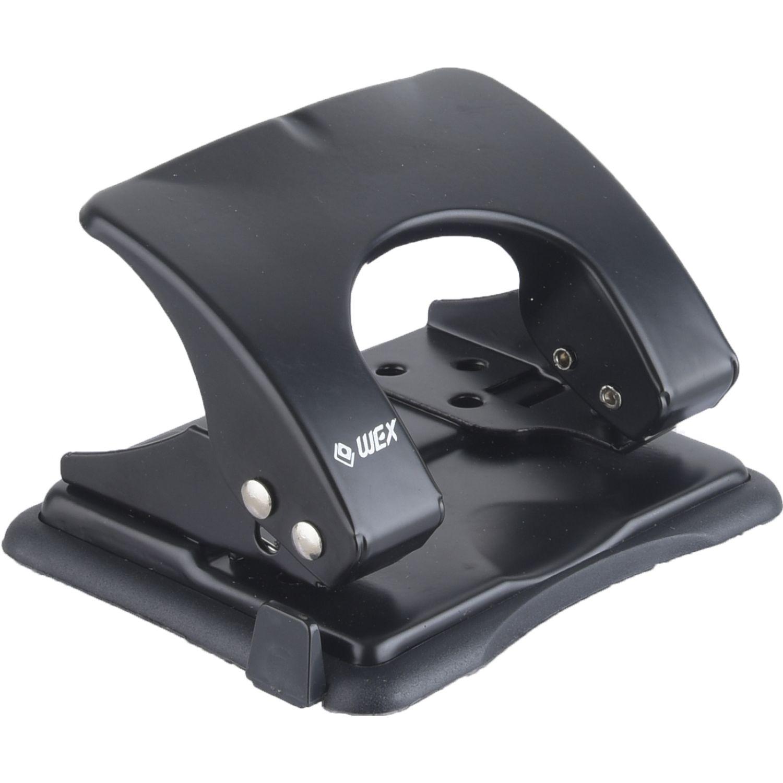 WEX Perforador 11-1219-80  Metálico Negro Perforadoras