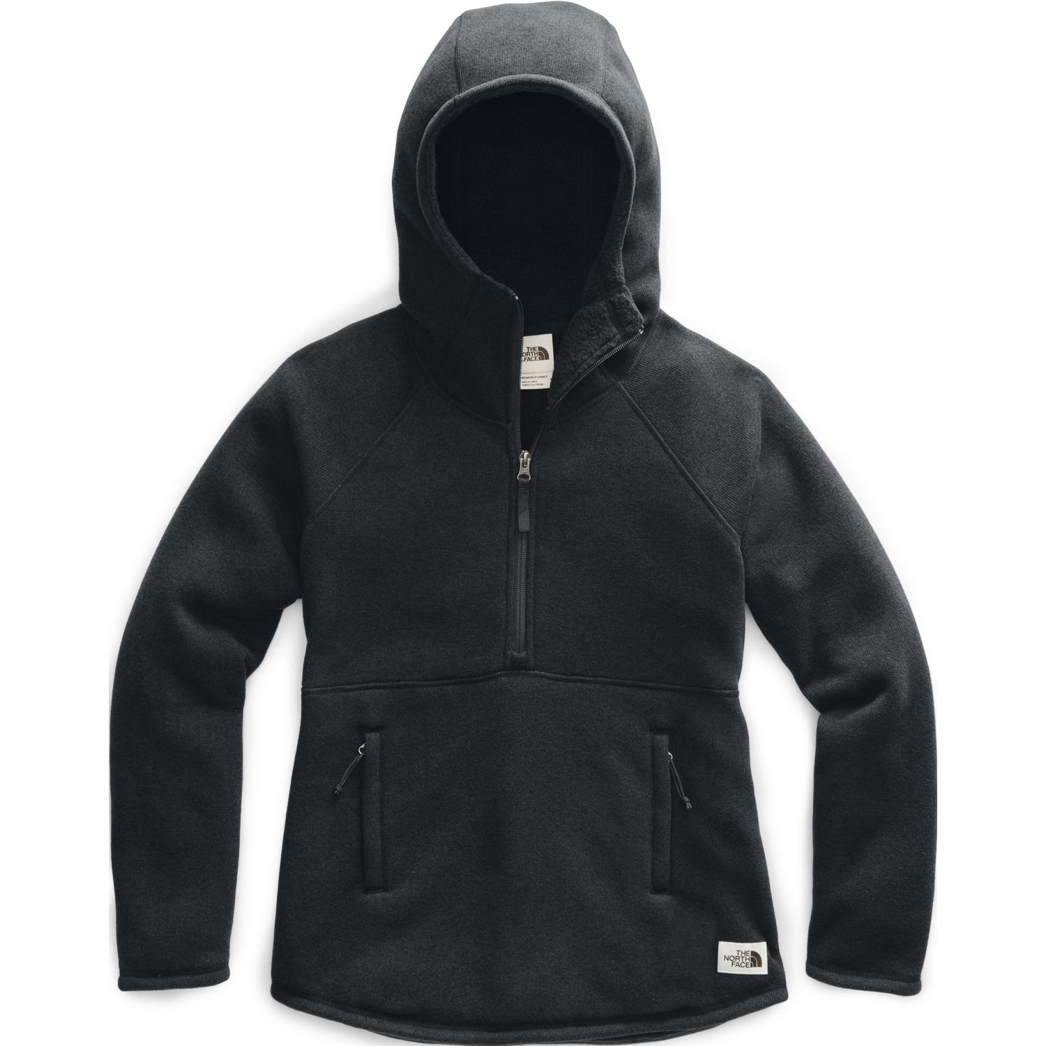 The North Face W Crescent Hooded Pullover Negro Hoodies deportivos