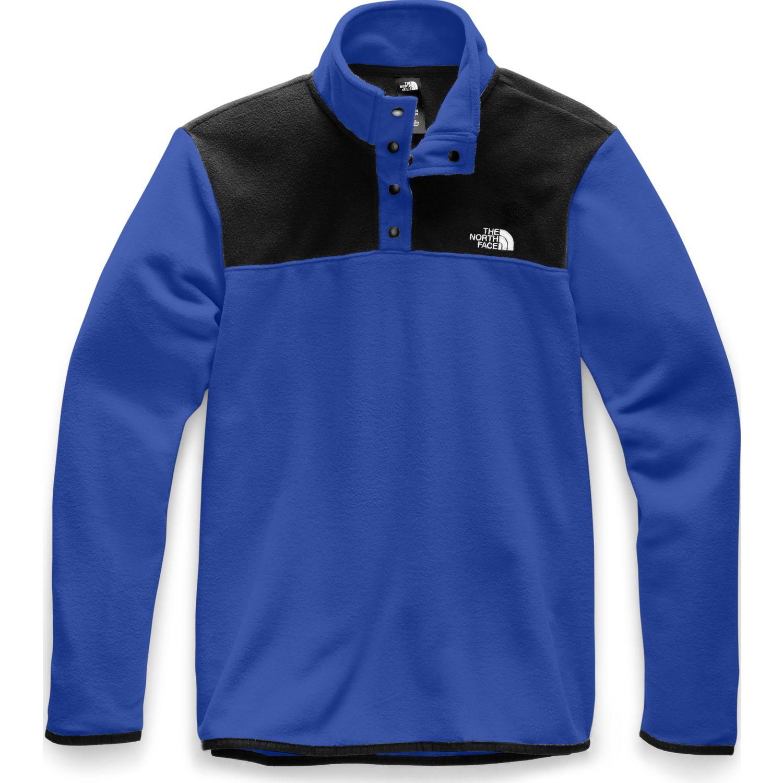 The North Face M TKA GLACIER 1/4 ZIP Azul Pullovers