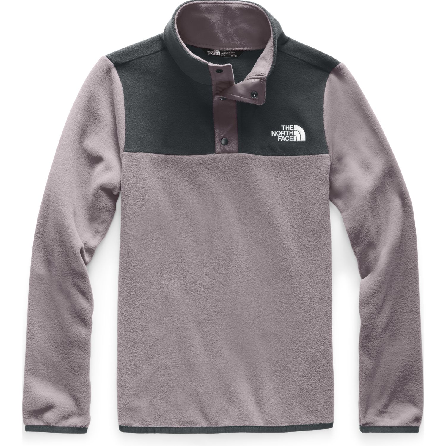The North Face G GLACIER 1/4 SNAP Morado Pullover