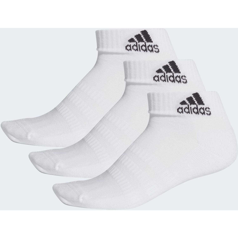 Adidas CUSH ANK 3PP Blanco Medias Deportivas