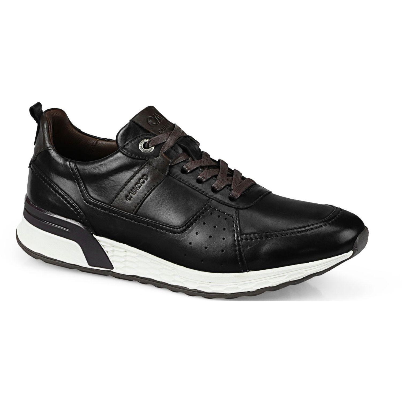 Calimod Zapatilla casual cuero UCE002W2 Negro Zapatillas Fashion