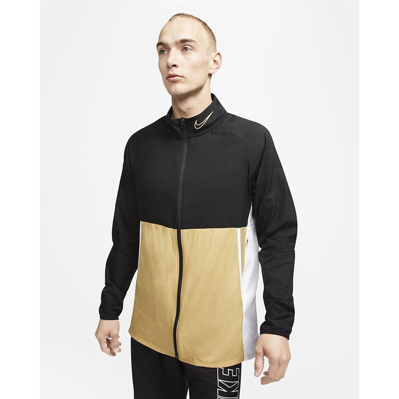 Nike M Nk Dry Acd Awf Jkt Sa NEGRO / CREMA Casacas de Atletismo