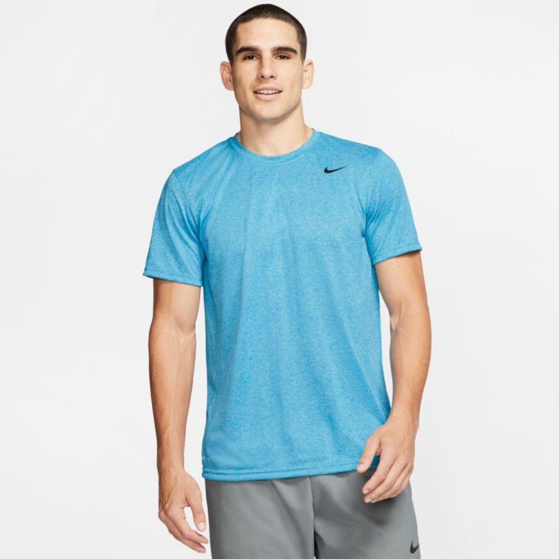 Nike M Nk Dry Tee Lgd 2.0 Celeste Camisetas y polos deportivos