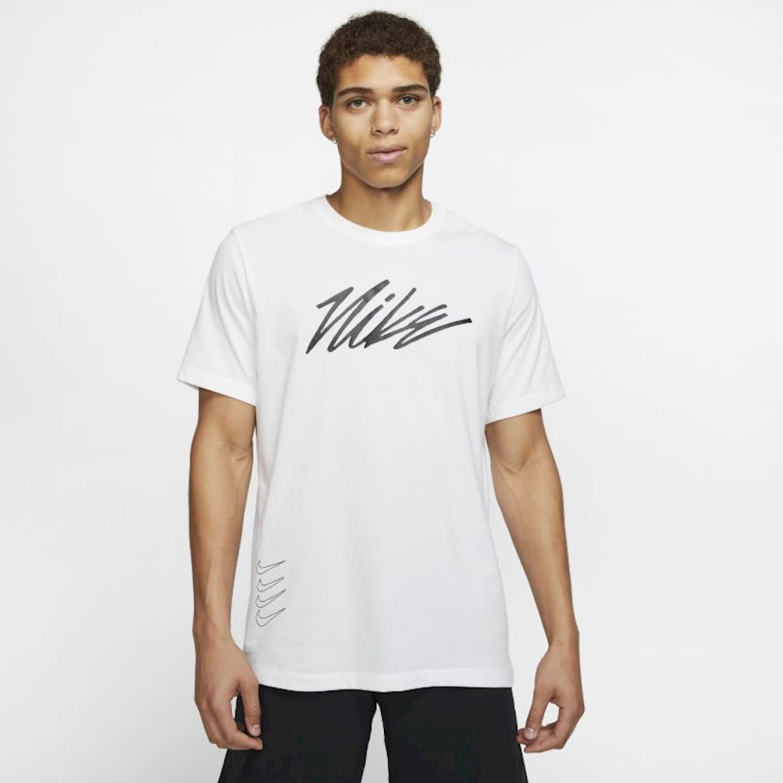 Nike M Nk Dry Tee Dfct Project X Blanco Camisetas y polos deportivos