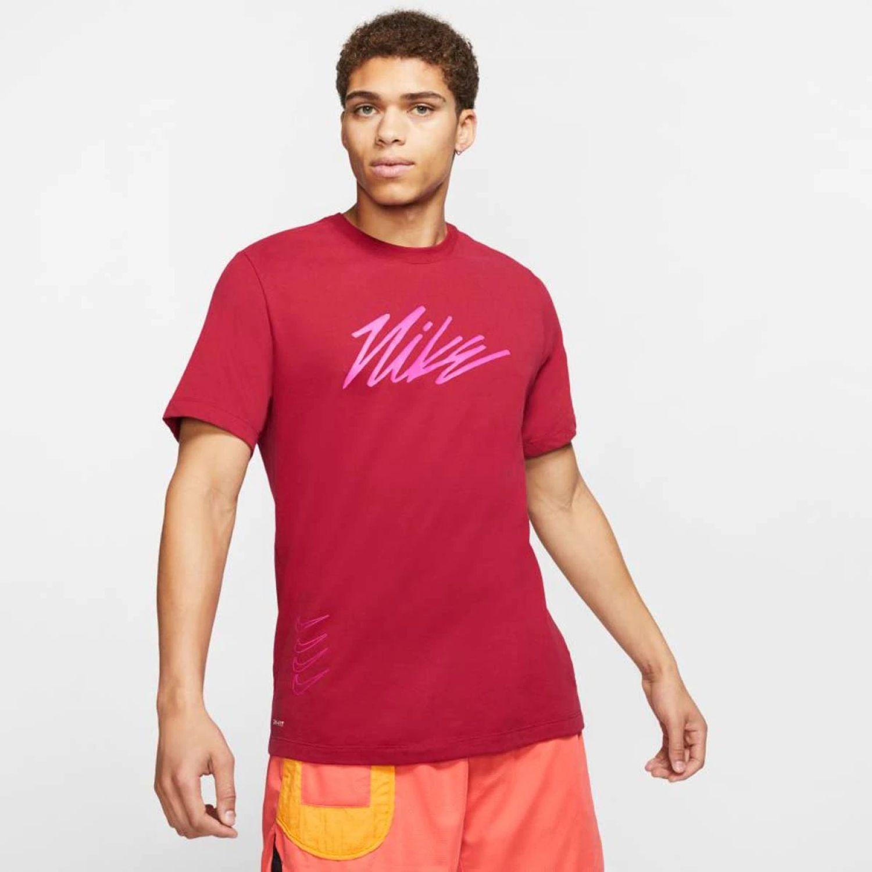 Nike M NK DRY TEE DFCT PROJECT X Rojo Camisetas y Polos Deportivos