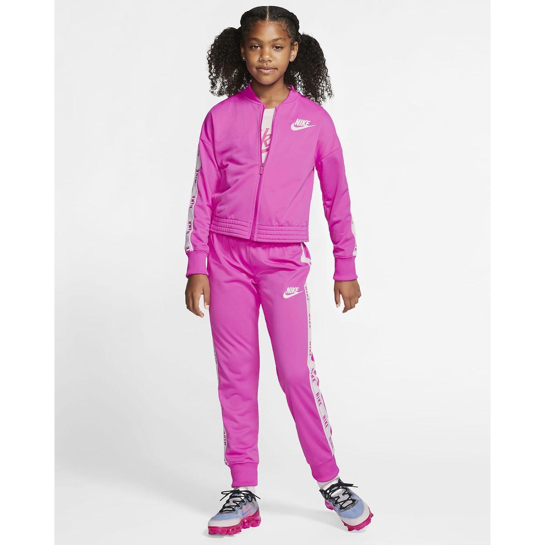 Nike G Nsw Trk Suit Tricot Rosado Conjuntos deportivos