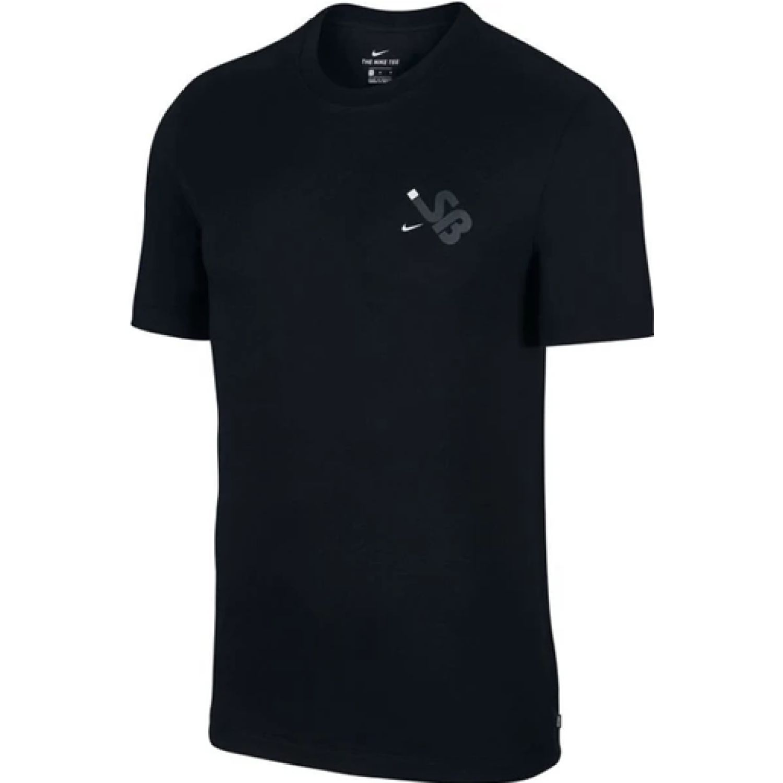 Nike M Nk Sb Tee Ssnl Sb Negro Camisetas y polos deportivos