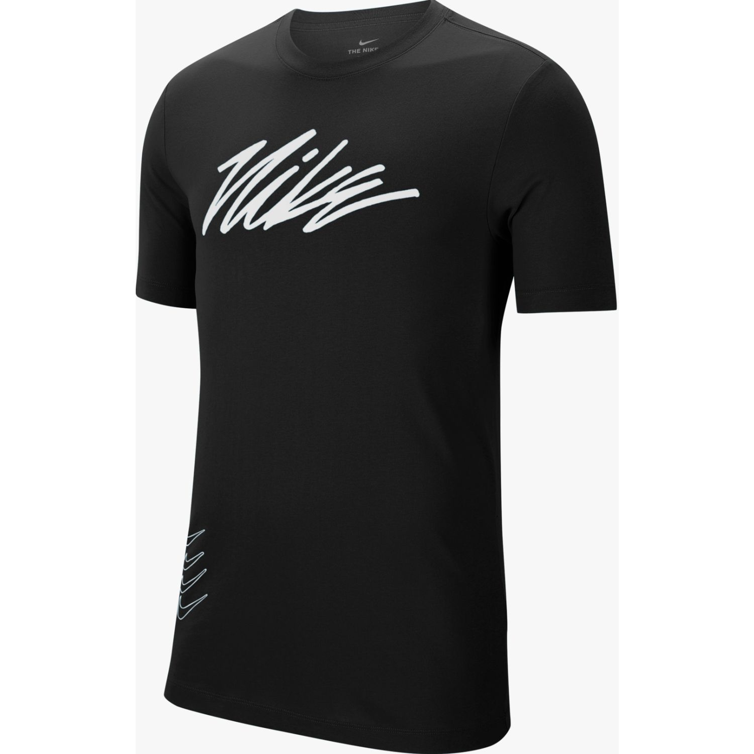 Nike M Nk Dry Tee Dfct Project X Negro Camisetas y polos deportivos