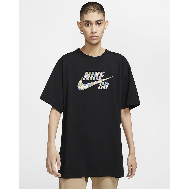 Nike M Nk Sb Tee Paradise Logo 2 Negro Camisetas y polos deportivos