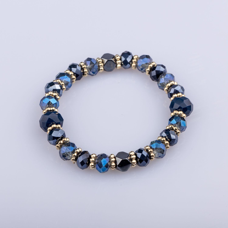 BE SIFRAH Pulsera Victoria Azul Brazalete