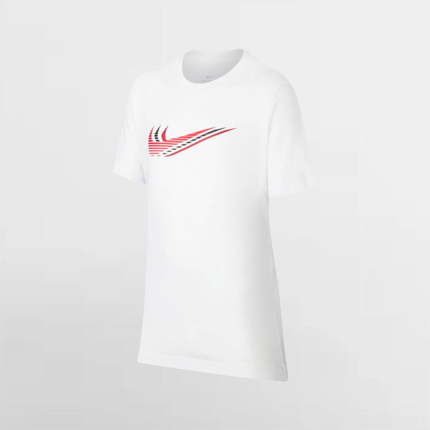 Nike U NSW TEE TRIPLE SWOOSH Blanco Polos