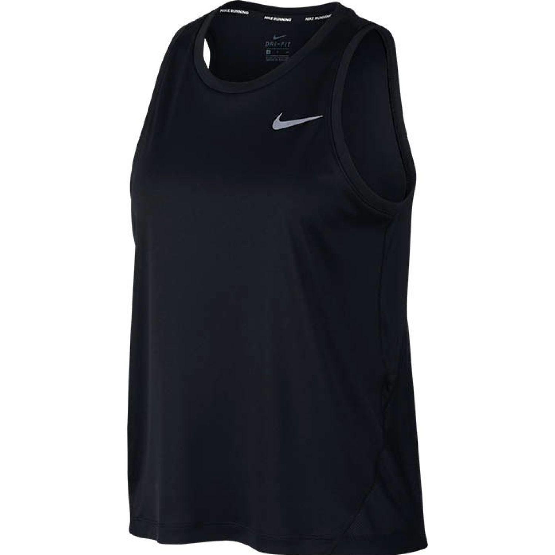Nike W Nk Miler Tank Negro Camiseta sin mangas