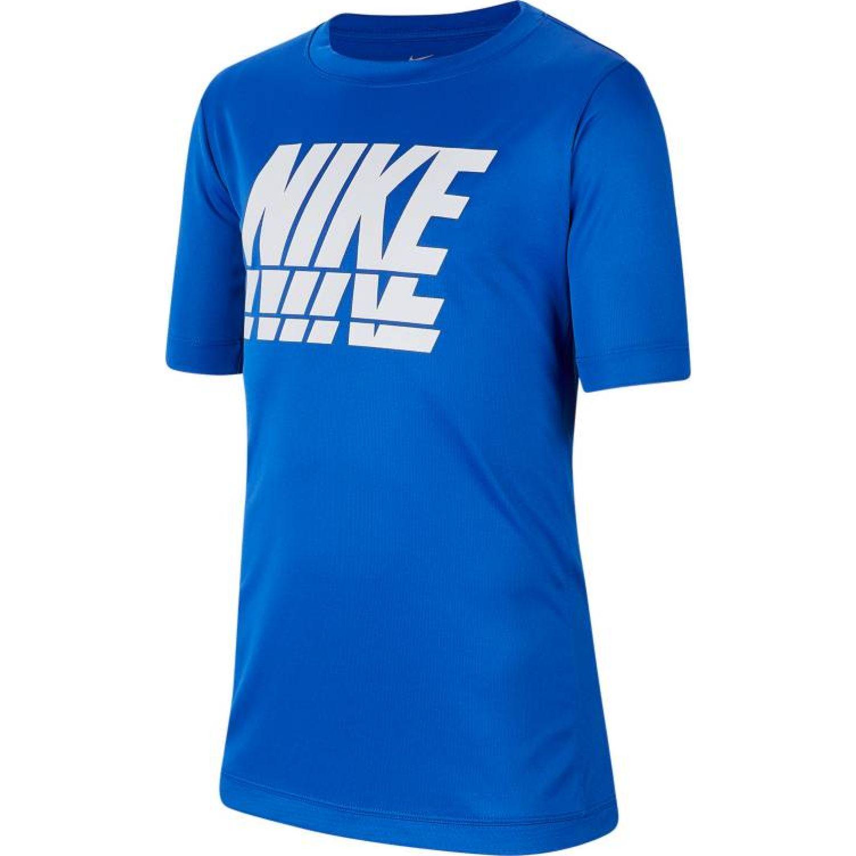 Nike B Nk Trophy Gfx Ss Top Azulino Camisetas y polos deportivos